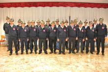 La formazione al completo del coro